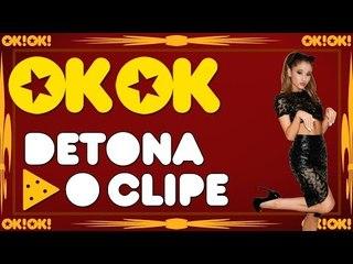 Ariana Grande vendendo Mega Hair no espaço - OK!OK! Detona o Clipe