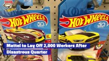 Mattel to Lay Off 2,000 Workers After Disastrous Quarter