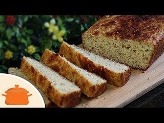 Pão Saudável de Abobrinha - Receita Fácil sem Sovar