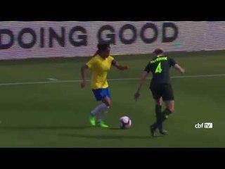 Torneio das Nações 2018: confira os gols de Brasil 1 x 3 Austrália