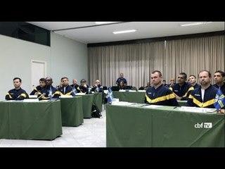 Árbitros reforçam protocolo do VAR em Águas de Lindóia