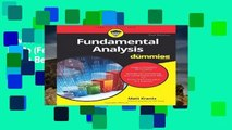 Favorit Book  Fundamental Analysis FD 2e (For Dummies) Unlimited acces Best Sellers Rank : #3