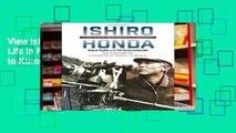 View Ishiro Honda: A Life in Film, from Godzilla to Kurosawa Ebook