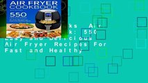 About For Books  Air fryer Cookbook: 550 Easy and Delicious Air Fryer Recipes For Fast and Healthy