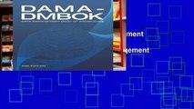 View DAMA-DMBOK  Data Management Body of Knowledge (2nd Edition) Ebook DAMA-DMBOK  Data Management