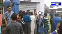 Security guard at an ATM of J&K bank injured after militant barged into the ATM in Kulgam.