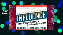 New Releases Influence: The Psychology of Persuasion  For Kindle