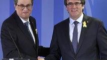 Carles Puigdemont de volta a Bruxelas pronto para lutar pela independência da Catalunha