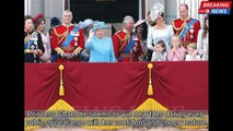 Princess Charlotte copied Queen Elizabeth's wave at Trooping The Colour | British Royal Family