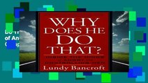 New Releases Why Does He Do That?: Inside the Minds of Angry and Controlling Men Complete