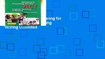 D0wnload Online Preparing for the ACT English, Reading   Writing Unlimited