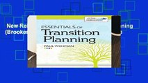 New Releases Essentials of Transition Planning (Brookes Transition to Adulthood) Complete