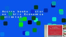 Access books Lectures on Public Economics Unlimited