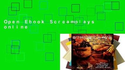 Open Ebook Screamplays online