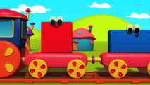 Shapes Train For Toddlers | Bob The Train Cartoons | Nursery Rhymes For Children by Kids Tv