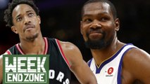 Was Demar DeRozan SHADED By The Raptors? Is Kevin Durant SOFT? | WEZ