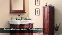 Foremost Bathroom Vanities   The All Bath