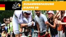 Zusammenfassung - Etappe 20 - Tour de France 2018