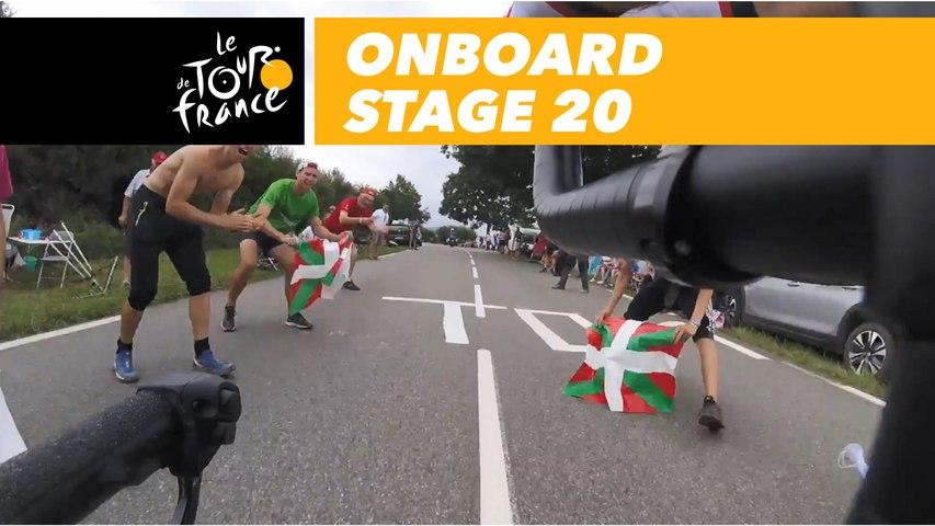 Onboard camera - Étape 20 / Stage 20 - Tour de France 2018