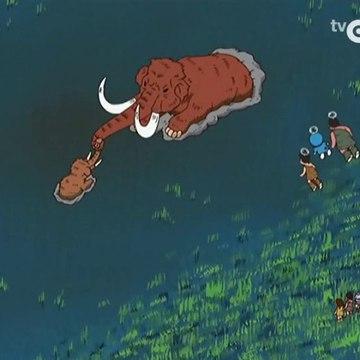 Doraemon - Observando os mamuts