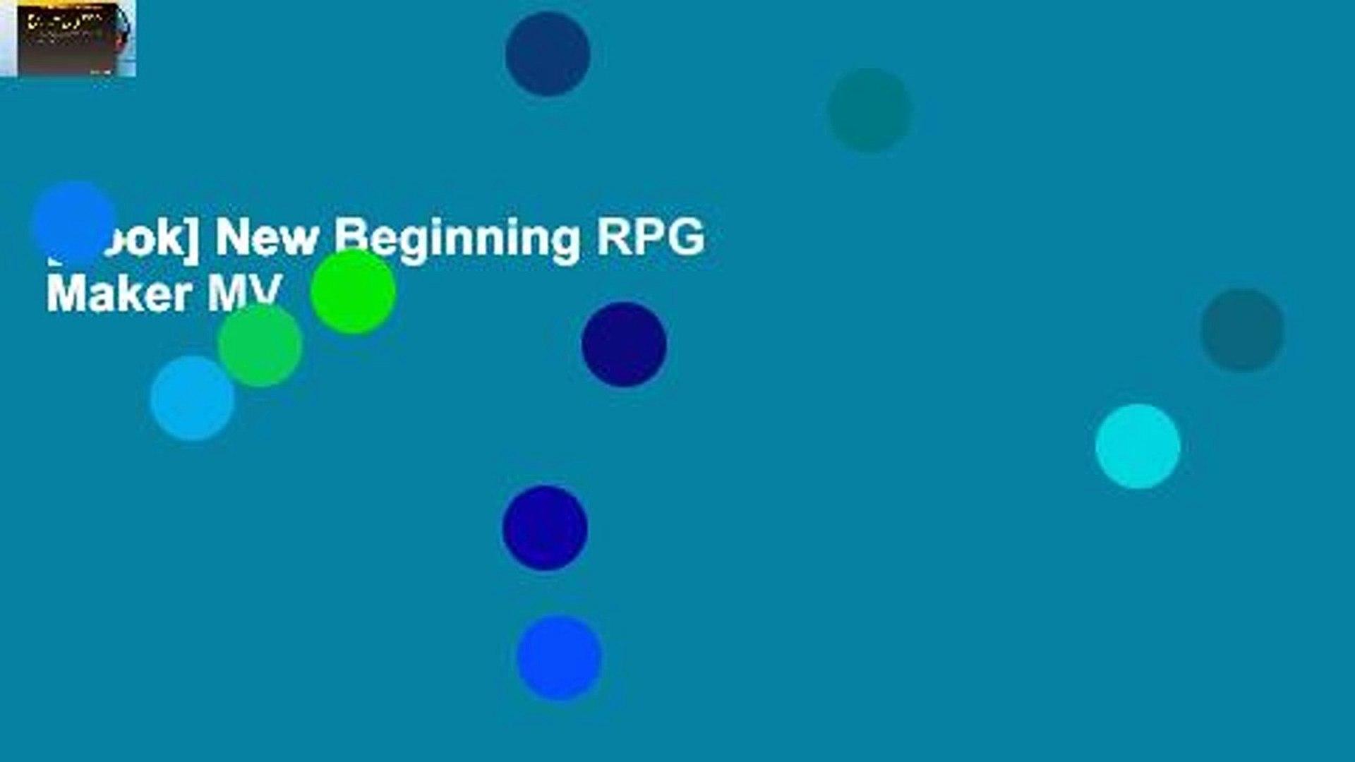 [book] New Beginning RPG Maker MV