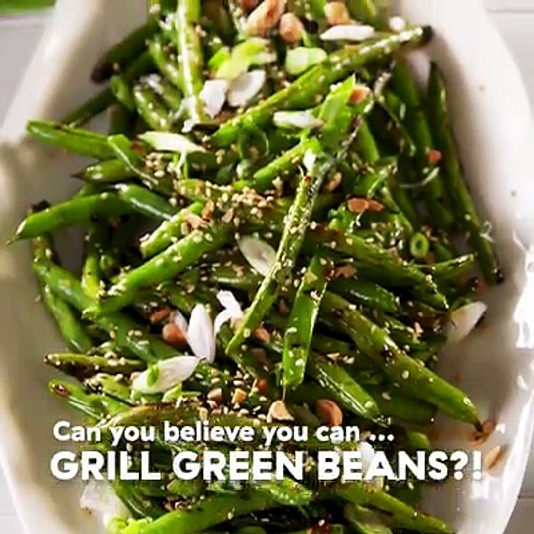 If you're not grilling your green beans, you're doing it SO wrong. Full recipe: