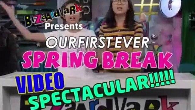 Bizaardvark Season 2 Episode 21 Spring Break Video Spectacular 4/6/2018 6th April 2018