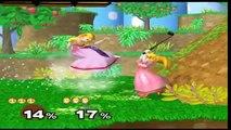 Let's Play: Super Smash Bros Melee - (Round 1) Peach vs Zelda
