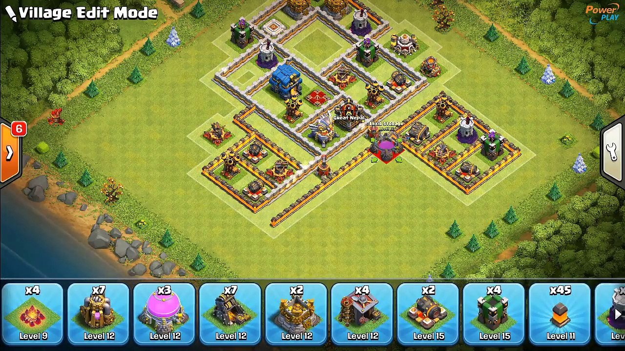New BEST TH12 Trophy / Farming Base / War Base 2018 | CoC BEST TH12 BASE  LAYOUT | Clash of Clans