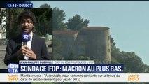 Selon un sondage IFOP, la popularité d'Emmanuel Macron est au plus bas depuis son élection
