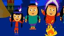 Ten Little Indians | Nursery Rhymes | Popular Nursery Rhymes by KidsCamp