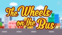 Wheels On The Bus Go Round and Round | HD Video Song with Lyrics | Nursery Rhymes by Luke