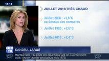Ce mois de Juillet est le plus chaud en France depuis 2006