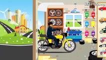 Voitures et camions pour enfants   Monster truck - voiture de police, ambulance