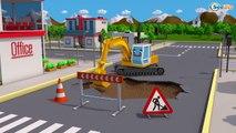 Les Voitures de la Ville - La Voiture de police - Dessins animés - Le Petit Voitures et Camions