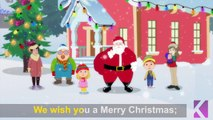 We Wish You A Merry Christmas | Full Carol With Lyrics | Christmas Carols For Kids