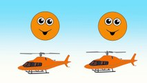 Counting Helicopters | Learn Colors & Numbers for Kids | Animated Surprise Eggs filled wit