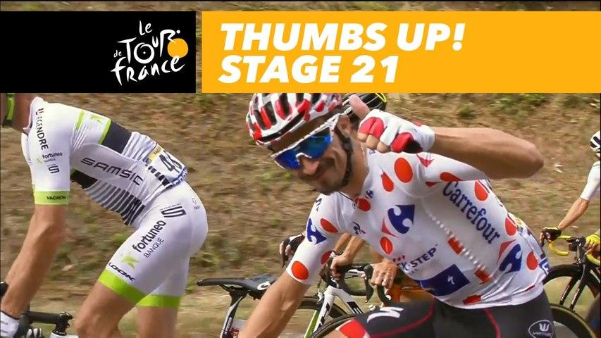 Thumbs up !  - Étape 21 / Stage 21 - Tour de France 2018