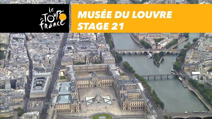 Musée du Louvre - Étape 21 / Stage 21 - Tour de France 2018