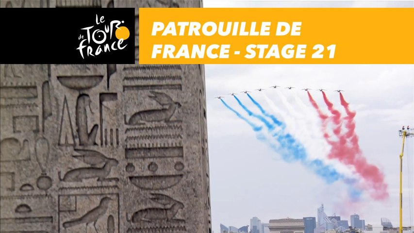Patrouille de France - Étape 21 / Stage 21 - Tour de France 2018
