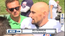 Rex Burkhead on Sony Michel, adjusting to Patriots in second year