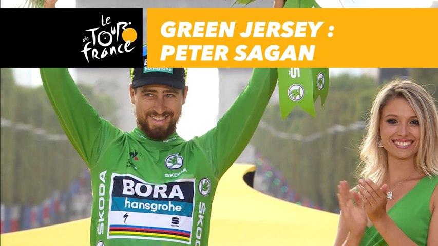 Green Jersey - Peter Sagan - Tour de France 2018