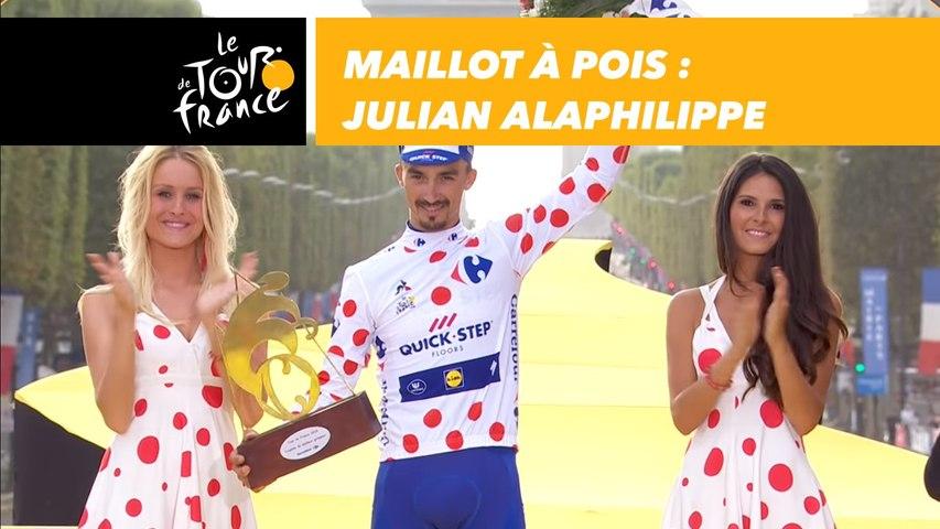 Maillot à Pois : Julian Alaphilippe - Tour de France 2018