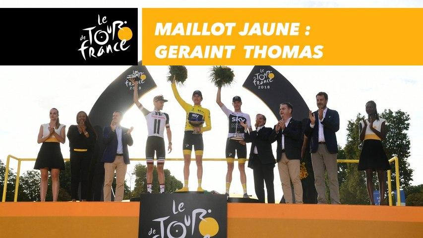 Maillot Jaune - Geraint Thomas - Tour de France 2018