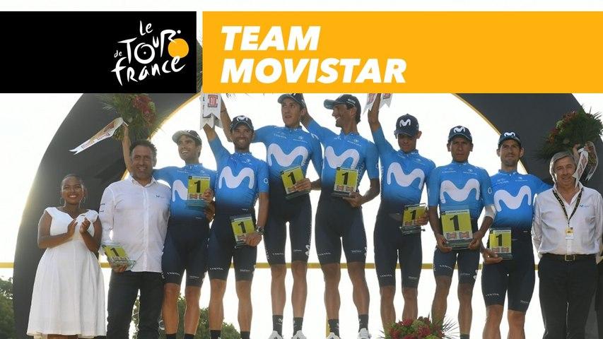 Team Movistar - Tour de France 2018