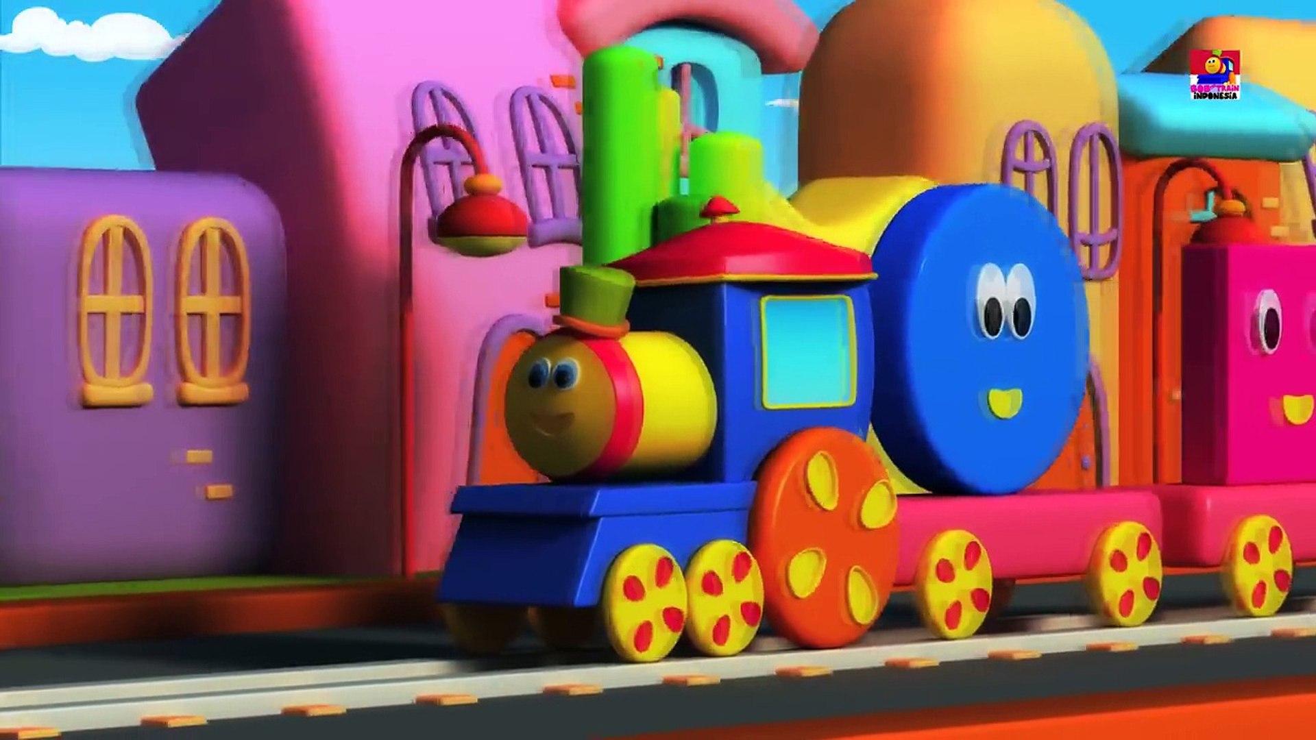 Bob Kereta Bentuknya Lagu Belajar Bentuknya Video Anak Anak Bob Train