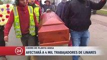 """Presidente Piñera por IANSA: """"para que nazca un árbol nuevo, muchas veces tiene que morir un árbol viejo"""""""