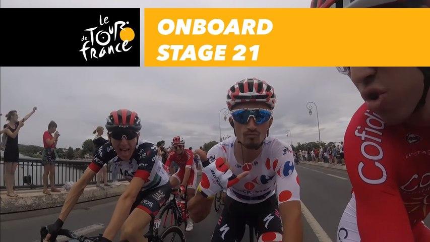 Onboard camera - Étape 21 / Stage 21 - Tour de France 2018