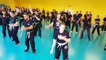 Krav Maga Street Defense Paris -préparation technique - ceinture jaune & orange - Krav Maga Street Defense  Paris  www.afkm.fr