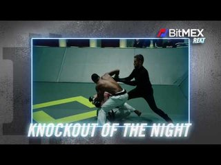 BitMEX Knockout of the Night on Karate Combat: Olympus